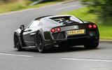 Noble M600 Speedster rear cornering