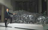 Speth by Jaguar word cloud sculpture