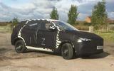 MG GS development car