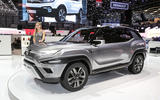 Ssangyong XAVL concept at the Geneva motor show