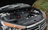 2.2-litre Ssangyong Turismo diesel engine