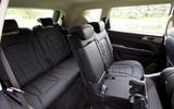 Ssangyong Rexton rear seats