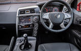 Ssangyong Musso dashboard
