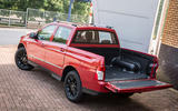 Ssangyong Musso EX rear tailgate