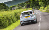 Ford Fiesta ST200 rear cornering