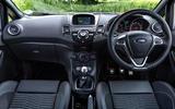 Ford Fiesta ST200 dashboard