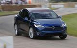 Tesla Model X 2016 Goodwood Festival of Speed