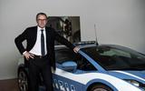Stefano Domenicali Lamborghini boss