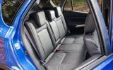 Suzuki SX4 S-Cross rear seats