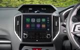 Subaru Impreza infotainment system