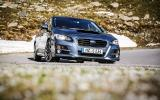Subaru Levorg hard cornering