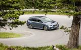 Subaru Levorg cornering
