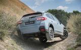 Subaru XV off-roading