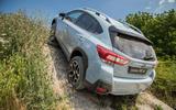 Subaru XV climbing