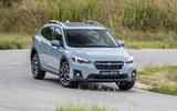 Subaru XV cornering