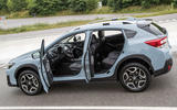 Subaru XV interior