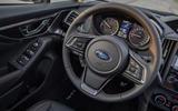 Subaru XV steering wheel