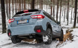 Subaru XV rear twisting axle