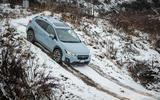 Subaru XV downhill descent