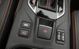 Subaru XV electronic parking brake