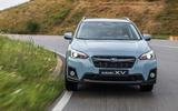 Subaru XV hard cornering