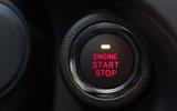 Subaru XV ignition button