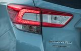 Subaru XV rear lights