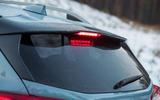 Subaru XV rear spoiler