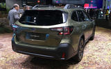 Subaru Outback 2019 New York Motor Show reveal - rear