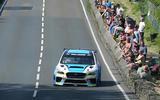Subaru WRX STI Time Attack Isle of Man lap record