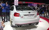 Subaru STI S209 Detroit motor show - rear