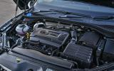 2.0-litre Skoda Superb petrol engine