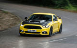 Ford Mustang Sutton CS700 cornering