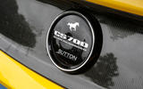 Ford Mustang Sutton CS700 badge