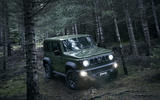 Suzuki Jimny 2019 official reveal photos woods