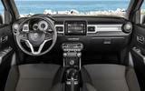 Suzuki Ignis 2020 facelift official images - interior