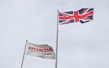 Honda factory Swindon flag