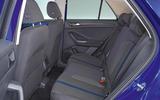 Volkswagen T-Roc 2.0 TSI rear seats