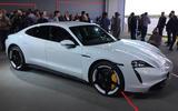 2020 Porsche Taycan reveal - static side