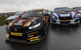 Inside the 2018 Honda Civic Type R BTCC racing car