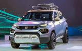 New Delhi Auto Expo 2020 - Tata HBX front