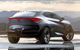 Cupra Tavascan concept - rear