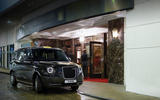 London Taxi Company electric taxi