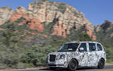 London Taxi Company TX5 hot weather testing