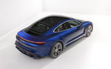 2020 Porsche Taycan Turbo S - studio rear