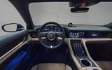 2020 Porsche Taycan Turbo S - studio interior