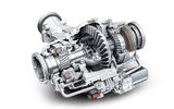 Limited-slip differential cutaway