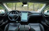 Tesla Model S P85D dashboard
