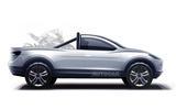 Tesla pick-up Autocar render