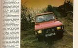 1985 Dacia Duster road test - Throwback Thursday